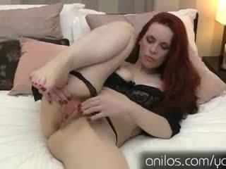 orgasm, redhead, fingering
