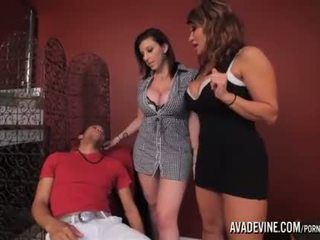 cougar, 3some, fake tits