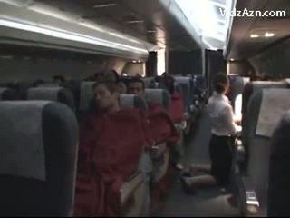 Stjuardess onaneerimine passenger & tasting tema riist