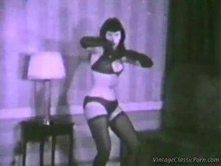 Vintage erótico dancer