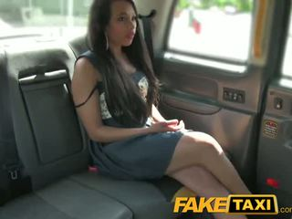 FakeTaxi Brunette sucks fucks and takes it in the ass - Porn Video 071