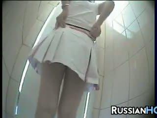 Verborgen toilet camera