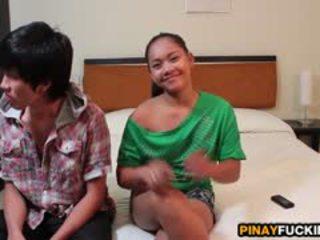 Filipina ahateur sophia blows και gets pumped