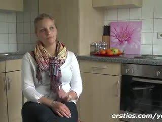 masturbar-se, solo, alemão