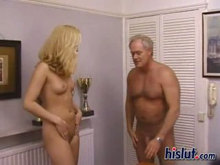 Blonde babe needs to ride a dick