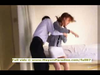 Akiho yoshizawa innocent chinois fille gets chatte licked