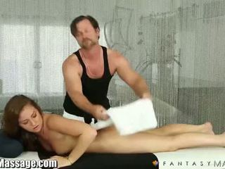 Fantasy Massage Maddy O'Reilly gets a House Call