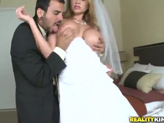 Alanah Rae The Erotic Dolls In A Wedding Outfit Has Bumped