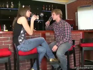 Jälkeen suutelua kanssa boyfriend