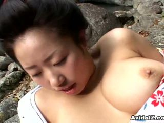 Seksual geisha kotone yamashita fucked hard
