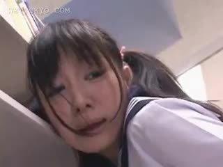 brunette, japonais, amateur