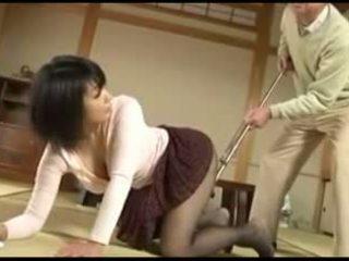 Alt mann und sexy japanisch jung ehefrau