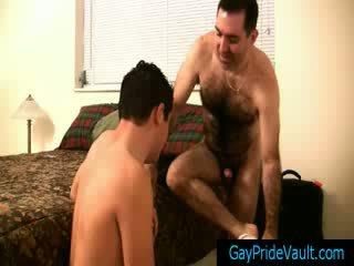 Hairy gay bear getting his cock sucked gaypridevault