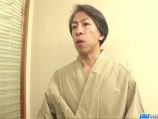 Harsh dreier mit verdorben yayoi yanagida