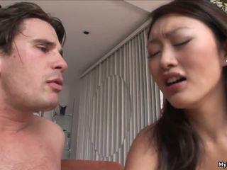 Evelyn lin jest a bardzo napalone azjatyckie kto fucks a dude