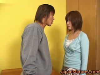 Kaori nanba जपानीस मेच्यूर बेब gets