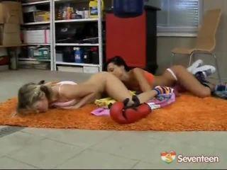 Lesbo Boxing Teen Girls