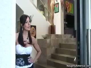 brunette, sariwa threesome makita, online nylon