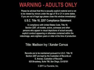 Xander corvus dan madison ivy has seks di itu pekerjaan