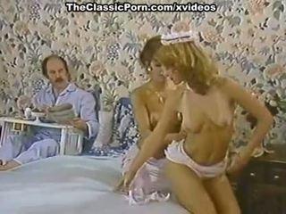 Karen vasara, nina hartley uz porno klasika saspraude ar a uzbudinātas istabene
