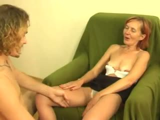 grannies, forfall, anal