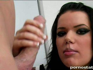 брюнетка, жорстке порно, товстий