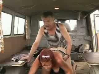 Old homeless pelaut pénis drilling sexy redhead prawan