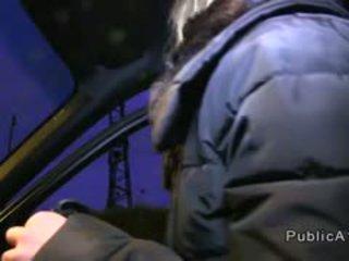 Blonde Banging Stranger In Public Pov At Night