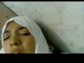 Wonderful מצרי arabic hijab נערה מזוין ב בית חולים -