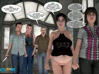 groupsex, bbw, cartoon
