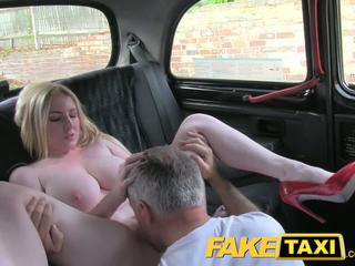 reality, big tits, taxi