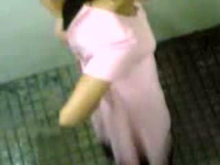 India girls taped taking pee video