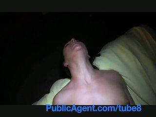 PublicAgent Natali blue eyes shy girl has multiple orgasms
