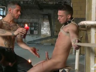 Joystick Mouth Fucking And Rope Slavery In Fuff Domination Vid