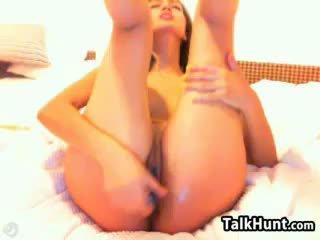 brunetta, giocattoli, webcam