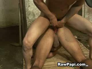 Hunk Latinaa fucks his tight Analhole deep and Pretty CumsHots