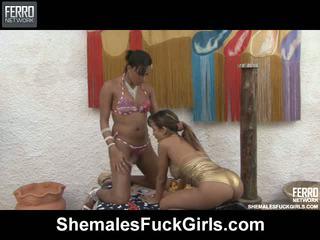 Camila bela τρανς fucks gal βίντεο