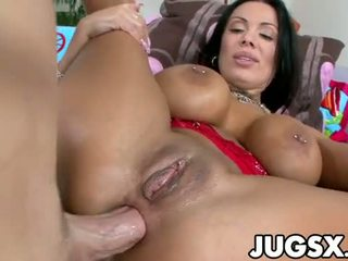 Curvy sienna west gets banged