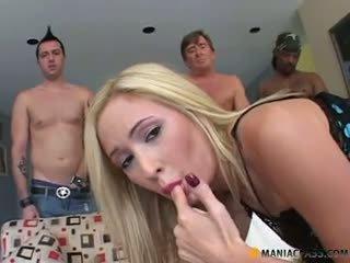 Hillary Scott anal gangbang