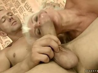 Lusty granny gets fucked pretty hard