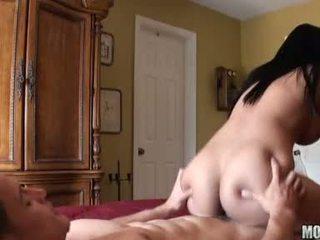 брюнетка, hardcore sex, голям пенис
