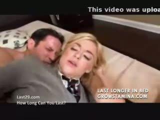 Private schoolgirl fucks her driver
