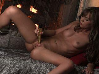 Busty Hot Alexis Capri Masturbat.