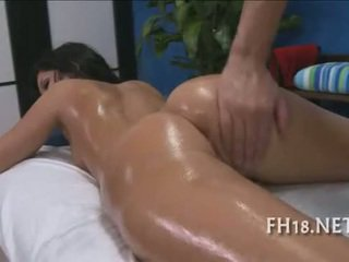 Beauty plays with penis