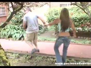 Sexo con la colombiana diana