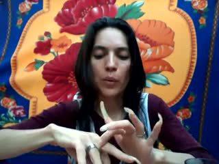 Largo natural nails: largo nails porno vídeo b9