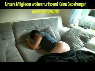 brünette, blowjob, deutsch