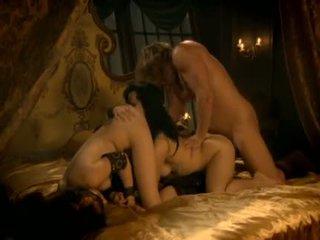 seks grupowy, szorstki, lizanie