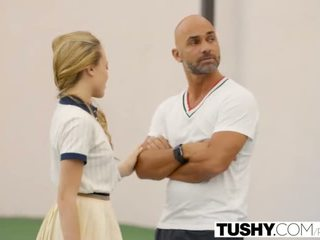 TUSHY First Anal For Tennis Student Aubrey Star