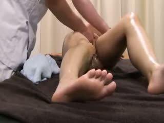 Beauty parlor massagem spycam